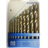 Набор сверл по металлу (1-10 мм) 10 шт. Proma 244576