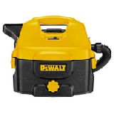 Аккумуляторный/сетевой пылесос для сухой и влажной уборки DeWALT DC500