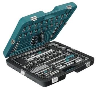 """Kamasa-Tools K 25018 Набор инструментов 166 предметов 1/2""""+3/8""""+1/4"""""""