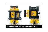 Самонивелирующий горизонтальный ротационный лазерный прибор STABILA LAR 250 Complete Set+(BST-K-L)+NL+Rec300