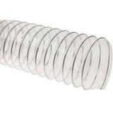 Прозрачный полиуретановый шланг, длина 5м, диаметр 100мм, стенка 0,5мм JET PU500.100.5